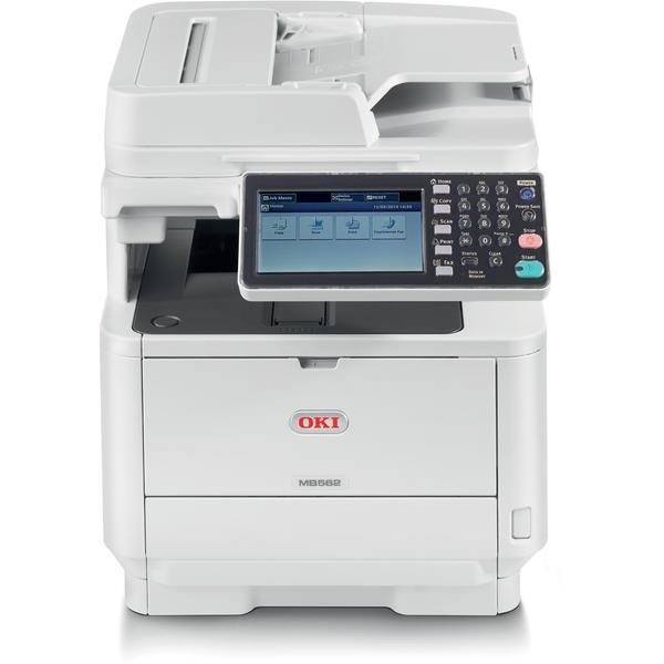 Okidata Copiers:  The Okidata MB562w MFP Copier