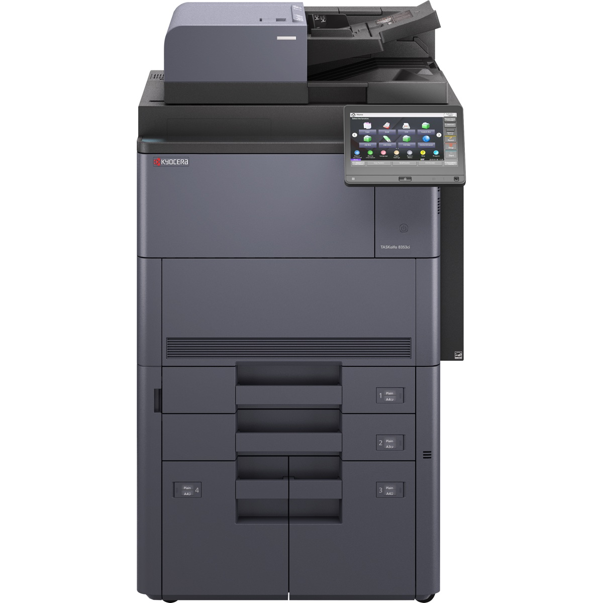 Kyocera Copiers:  The Kyocera TASKalfa 8353ci Copier