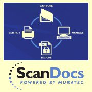 Muratec Copiers:  The Muratec ScanDocs Professional Software