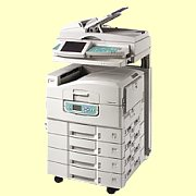 Okidata Printers:  The Okidata CX3641 MFP Printer