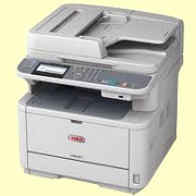 Okidata Copiers:  The Okidata MPS4200mb MFP Copier