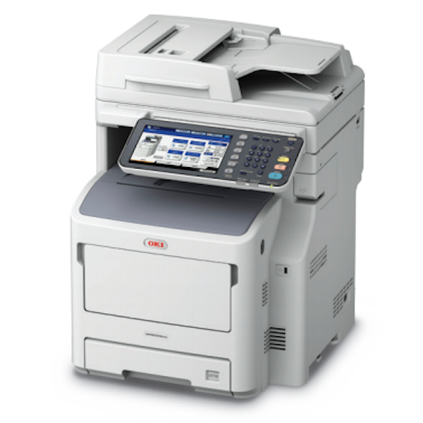 Okidata Copiers:  The Okidata MPS3537mc+ MFP Copier