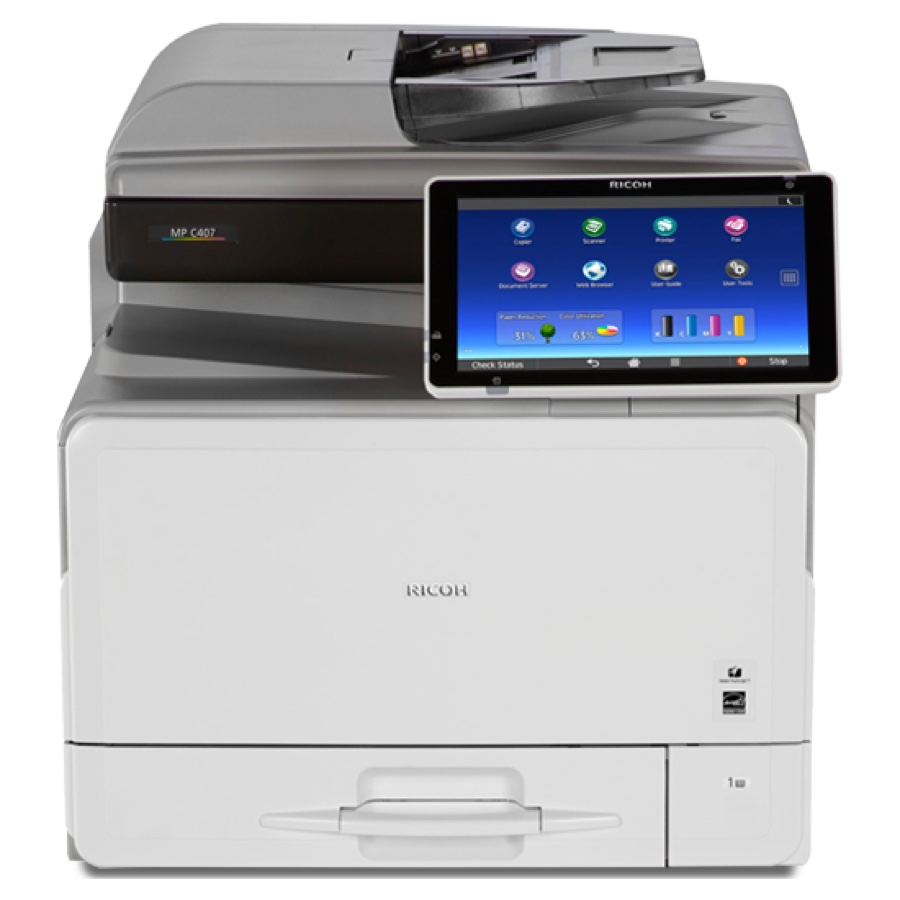Ricoh Copiers:  The Ricoh MP C407 Copier