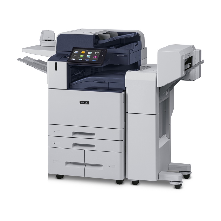 Xerox Copiers:  The Xerox AltaLink B8170/H2 Copier